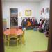 Garderie et hall d'entrée d'une classe de PS-MS